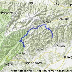 2 zile prin trecatori: Sohodol - Campul lui Neag si Campusel - Izbucul Cernei - Motru - Valea Mare - Closani