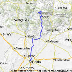 Lleida Áger, Coll de Ares Lleida