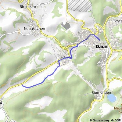 Eifelroute Daun - Trier