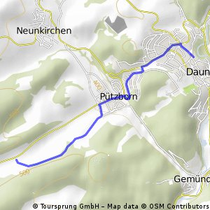 Eifelroute Daun - Trier CLONED FROM ROUTE 256877