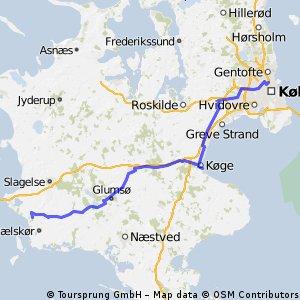 CYCLING DENMARK SUMMER 14