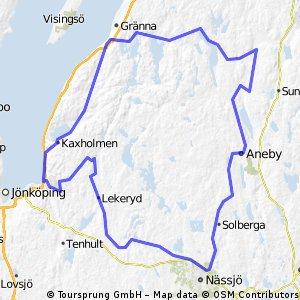 GrännaLinderåsNässjöHva150 km