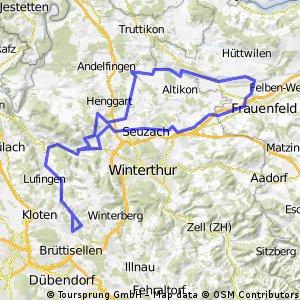 Bassersdorf - Kartause Ittigen - Bassersdorf