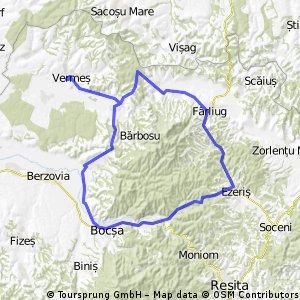Vermes - Bocsa - Farliug - Duleu - Vermes