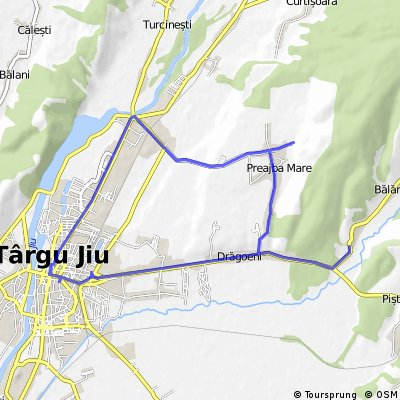 Balanesti, Preajba, Tg-Jiu Centru, Nbike, Coloana, Balanesti