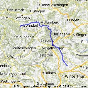 Schwarzwald (Bonndorf - Schaffhausen