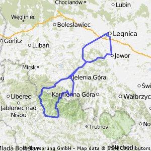 planowana traska do Czech przez przełęcz karkonowską.