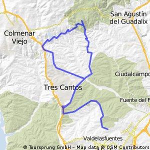 Sanse - Mirador de Madrid - Tres Cantos