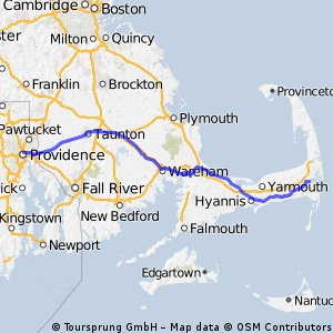 Providence to Cape Cod