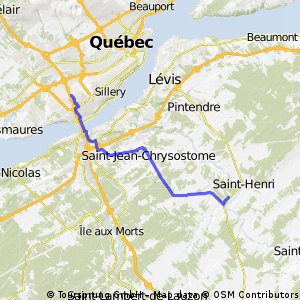 Sainte-Foy - Saint-Henri-de-Lévis