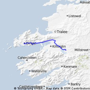 D7 Dingle To Killarney