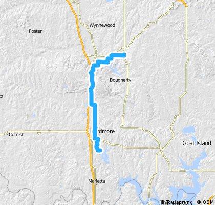 Arbuckle Mountain Crossing: Sulphur to Lake Murray SP