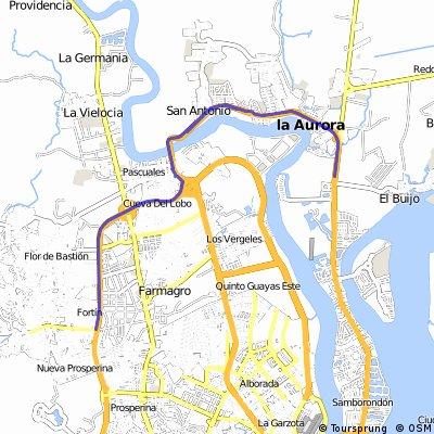 Vía Samborondon - Pascuales - Perimetral - Inmaconsa