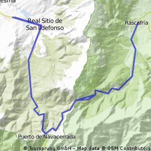 La Granja Navacerrada Rascafría Cotos La Granja (con Navalpelegrín)