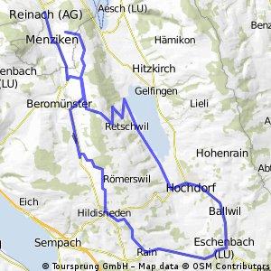Rundtour: Herlisberg, Hochdorf, Eschenbach