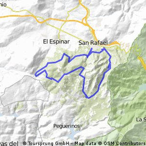 San Rafael-Camping Valle Enmedio-Senda del Ingeniero