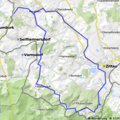 Tour ins Zittauer Gebirge ab NGDF