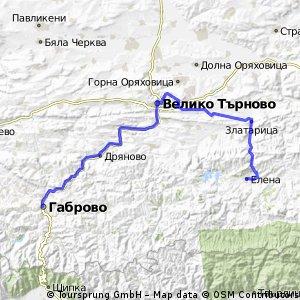 Gabrovo-Veliko-Arbanasi-Zlataritsa-Elena
