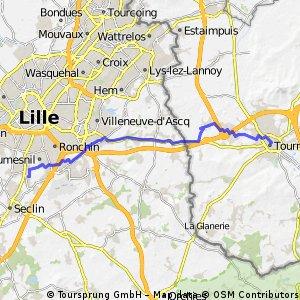 5. Etappe: Tournai - Templemars