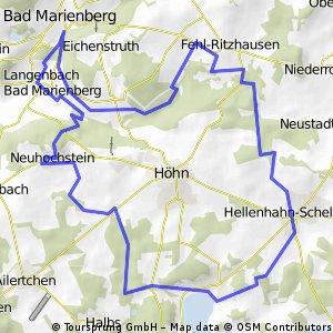 MTB Strecke Neuhochstein