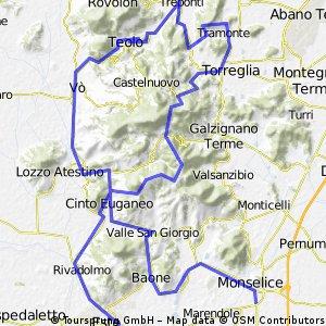 Tratto collinare GF Adige Colli Adige