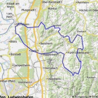RTF Einhausen-Odenwald und zurück