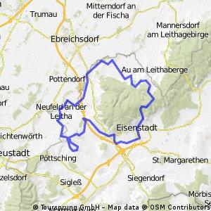 Okolo Donnerskirchen (B11, kratší varianta)