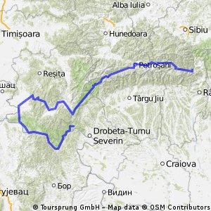 Gara Lotru-Drobeta Turnu Severin (edit: Orsova)