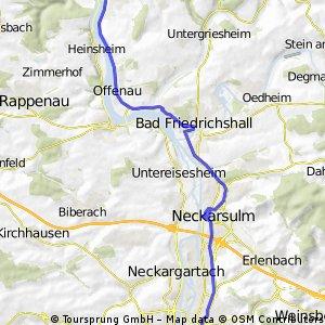 2.Etappe Burgen-Radweg