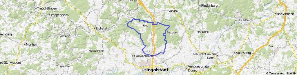 Große Kipfenberg Runde