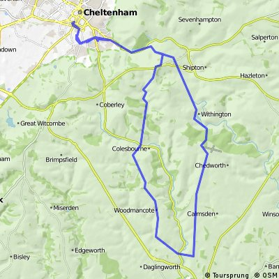Dowdeswell/Colesbourne/Perrotts Brook/Whiteway
