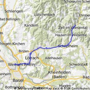 Große Runde vor Freiburg