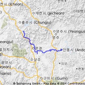 1 parte del Nakdonggang