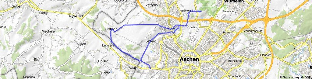 Vaalsquartier-Seffent-Laurensberg-Orsbach-Lemiers Family Tour