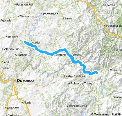 Camino de Invierno - Tramo Gallego - Primera Etapa: A Rúa - Chantada