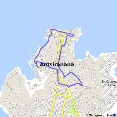 13. Antsiranana circuit ( 15 giri)