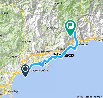 TransAlps Maritimes 2014 - Dzien1