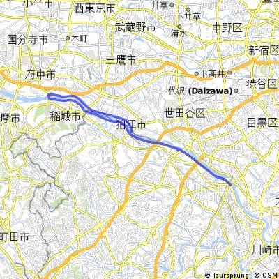 Tama River Loop
