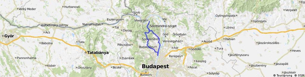 UVH-Csobánka-Kisrigó-Spartacus-ösvény-Visegrád