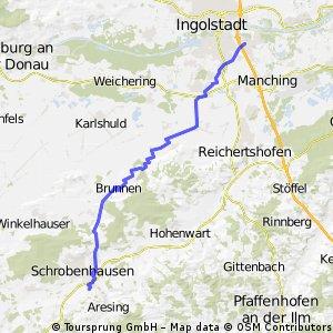 Schrobenhausen - Ingolstadt - TEST