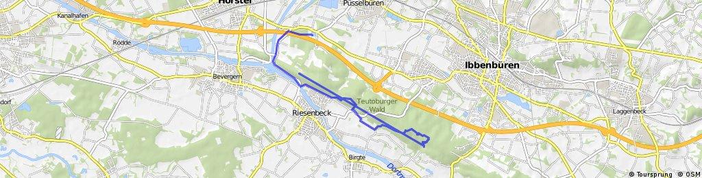 Mtb Route Riesenbecker Berg