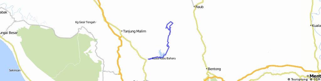 Mini Stadium Kuala Kubu Baharu to Fraser Hill