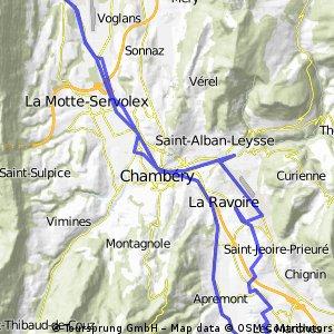 Lar de saint andré/lac du bourget