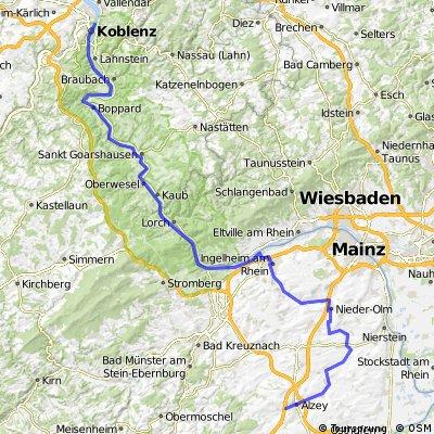 Alzey-Ingelheim-Koblenz