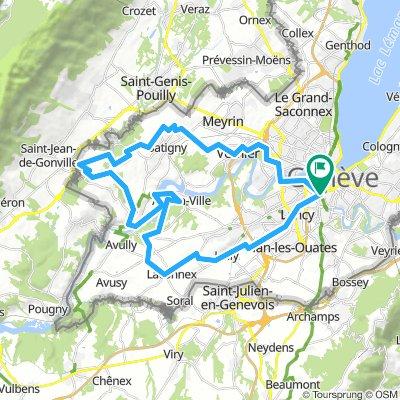 Roulavaz, Allondon et Rhône genevois