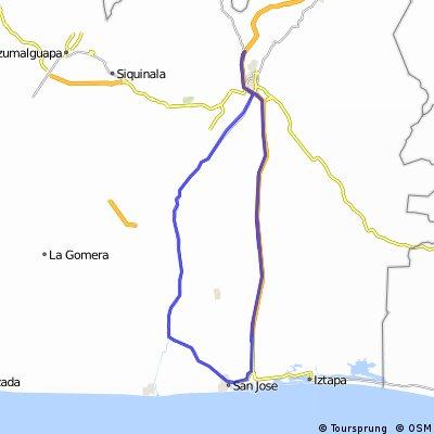 Sarita - Puerto San José - Sarita (Regreso vía Masagua)
