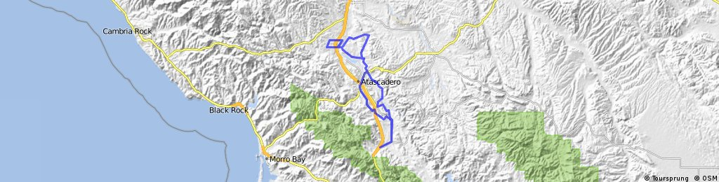 Santa Margarita to Templeton via Rocky Canyon