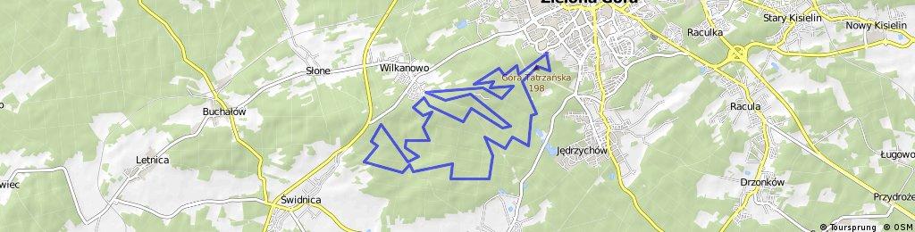 III etap GP Kaczmarek Electric MTB - Zielona Góra 1.06.2014
