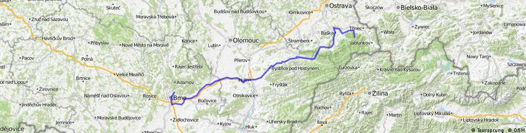 Do Beskyd - Brno Brevet Series 2014 - 400 km