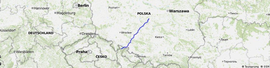 Łódź Lodz Poland - Lipova Lazne Ceska republika Czech Republic